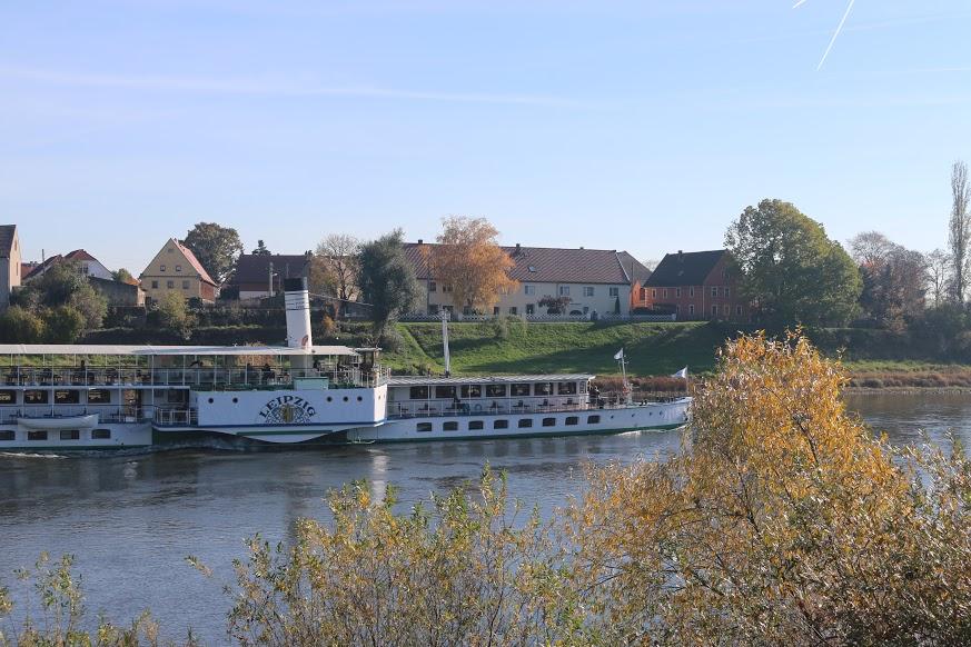 Schaufelraddampfer Leipzig